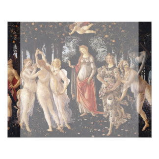 "La Primavera (Spring) by Sandro Botticelli 4.5"" X 5.6"" Flyer"