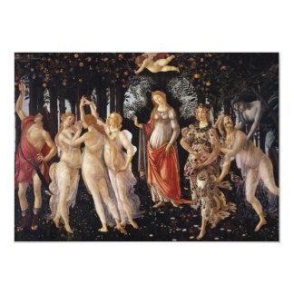 La Primavera (Spring) by Sandro Botticelli Personalized Announcement