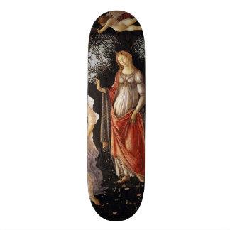 La Primavera (Spring) by Sandro Botticelli Skateboard Deck