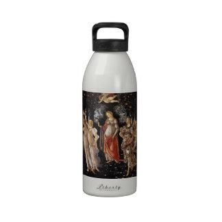 La Primavera (Spring) by Sandro Botticelli Drinking Bottles