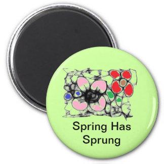 , La primavera tiene imán saltado