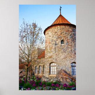La primavera viene al castillo 2 posters
