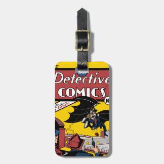 La primera aparición de Batman Etiquetas Para Maletas