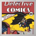 La primera aparición de Batman Impresiones