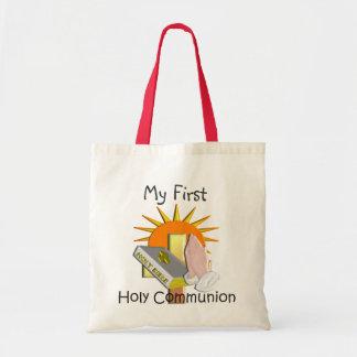 La primera comunión santa embroma los regalos