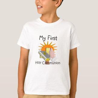 La primera comunión santa embroma los regalos playera