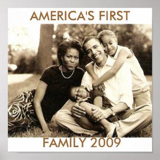 La primera familia 2009 de América Póster