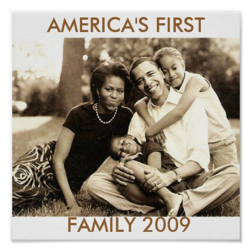 La primera familia 2009 de América Poster
