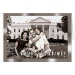 La primera familia de América Tarjetas