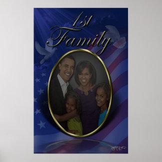 La primera familia póster