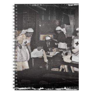 La Primera Guerra Mundial cuida la estación de Notebook
