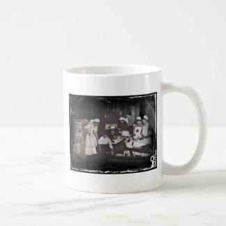 La Primera Guerra Mundial cuida la estación de Taza De Café