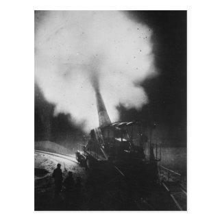 La Primera Guerra Mundial ferroviaria francesa más Tarjeta Postal