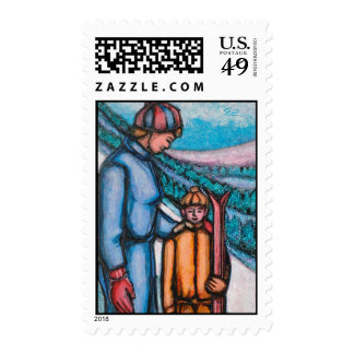 La primera lección sello
