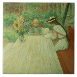 La primera Lesson, 1903 Azulejo