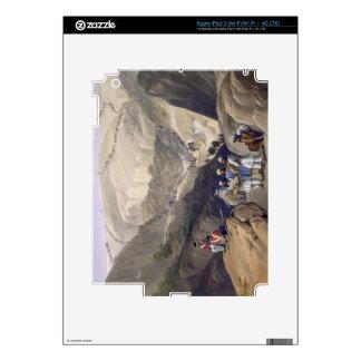 La primera pendiente a través del paso de Koojah,  iPad 3 Pegatina Skin