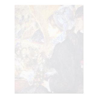 La primera salida de Pierre-Auguste Renoir Membretes Personalizados