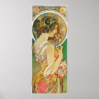 La Primevere, Mucha Poster