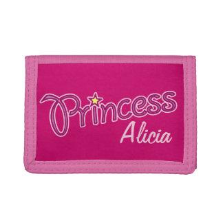 La princesa añade su propio monedero conocido de l