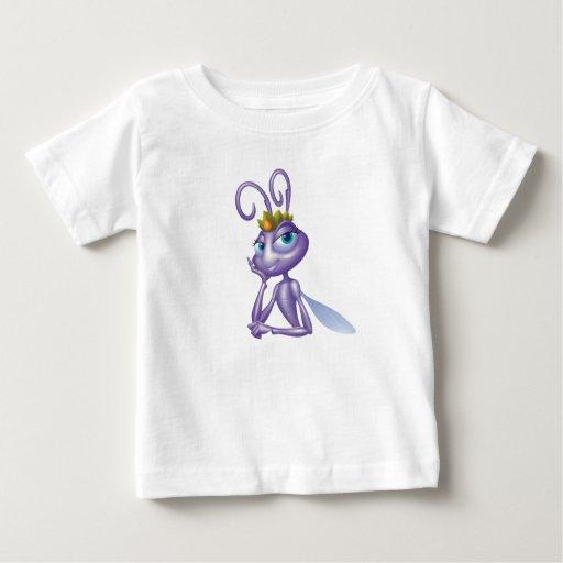 La princesa Atta Disney de la vida de un insecto Playera Para Bebé
