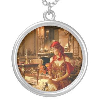 La princesa Awaies (collar/colgante) Colgante Redondo