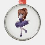 La princesa Ballerina Adornos De Navidad
