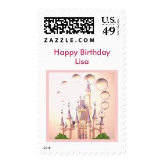 La princesa Castle Birthday Invitations de la niña