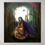 La princesa de bambú poster
