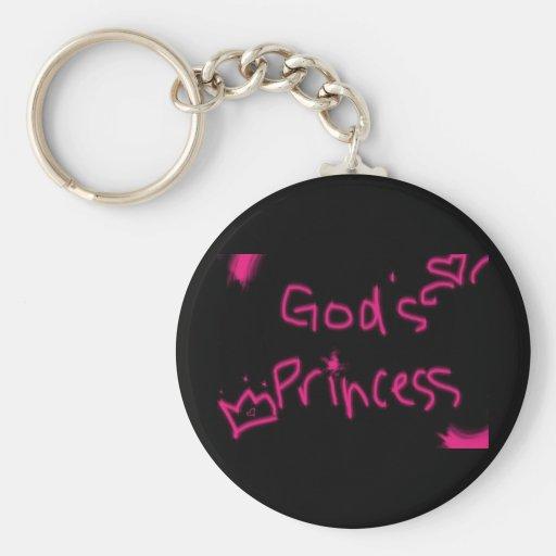 La princesa de dios llaveros personalizados