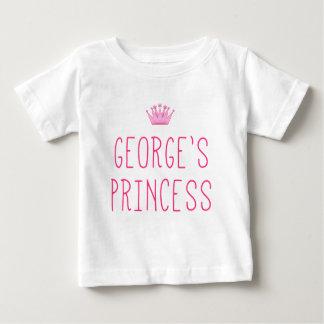 La princesa de George Playera De Bebé