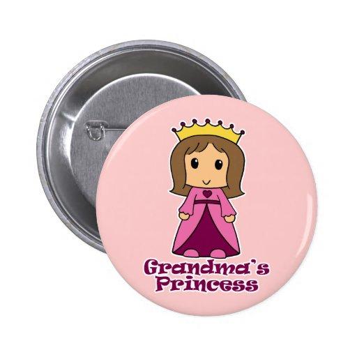 La princesa de la abuela pin