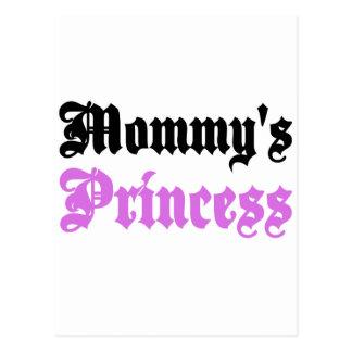 La princesa de la mamá tarjetas postales