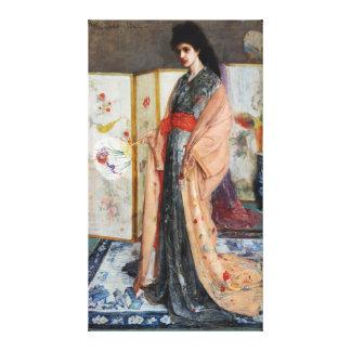 La princesa de la tierra de la porcelana lienzo envuelto para galerías