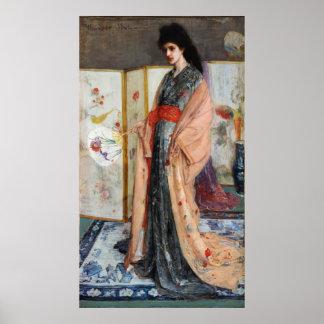 La princesa de la tierra de la porcelana póster