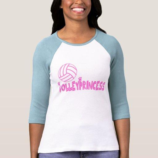 La princesa de VolleyChick Camisetas