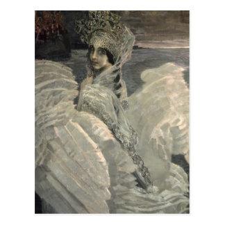 La princesa del cisne, 1900 postal