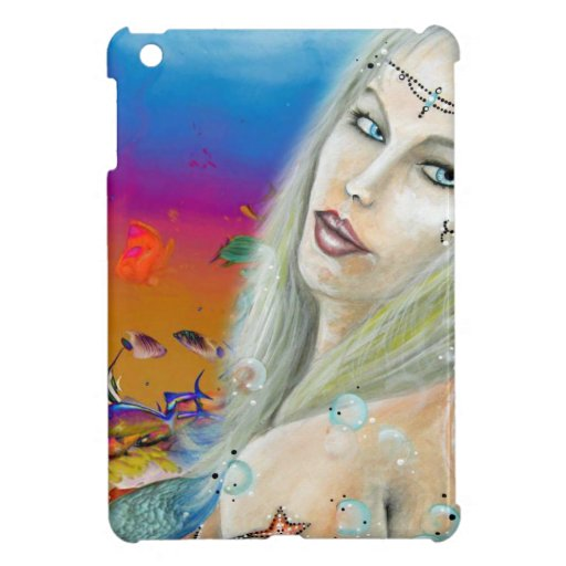 La princesa del océano crea para requisitos partic iPad mini cárcasas