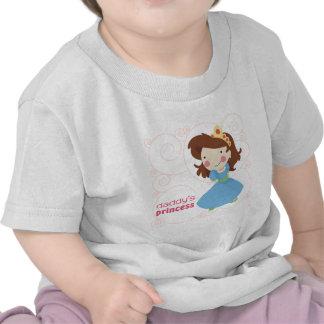 La princesa del papá camisetas