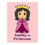 La princesa del papá postal