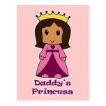 La princesa del papá postales