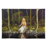 La princesa en el bosque mantel individual