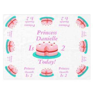 La princesa es adaptable hoy mantel