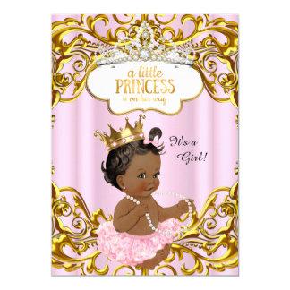 """La princesa está en su rosa de la fiesta de invitación 5"""" x 7"""""""