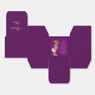 La princesa étnica personalizada fiesta de cajas para regalos de fiestas