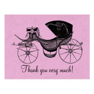 La princesa fiesta de bienvenida al bebé le postales