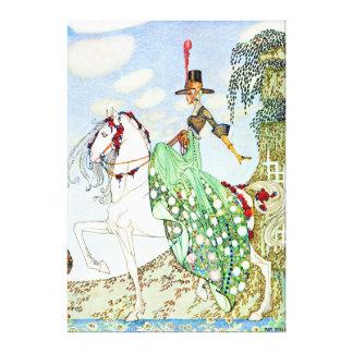 La princesa hermosa Minotte de Kay Nielsen Lienzo Envuelto Para Galerías