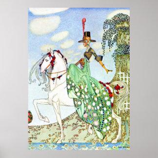 La princesa hermosa Minotte de Kay Nielsen Poster