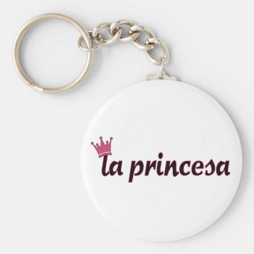 la princesa keychain