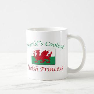 La princesa más fresca Galés Taza De Café