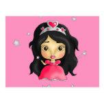 La princesa más pequeña tarjeta postal